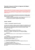 Propositions citoyennes de charte du relogement pour les délogés de Marseille après le 5 novembre